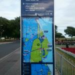 információs tábla