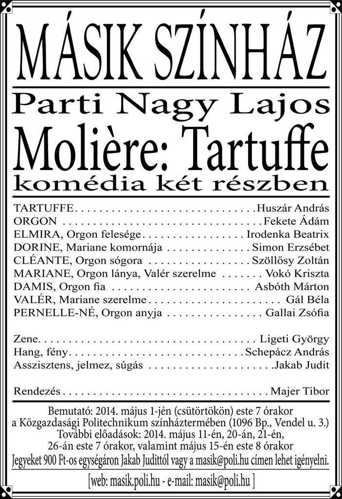 Tartuffe-plakat